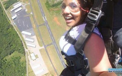 Krysta Dean Falls For Skydiving